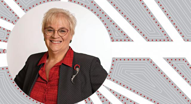 Sally Rockey (BS, Zoology; MS and PhD Entomology) named Ohio State's 2021 Alumni Medalist