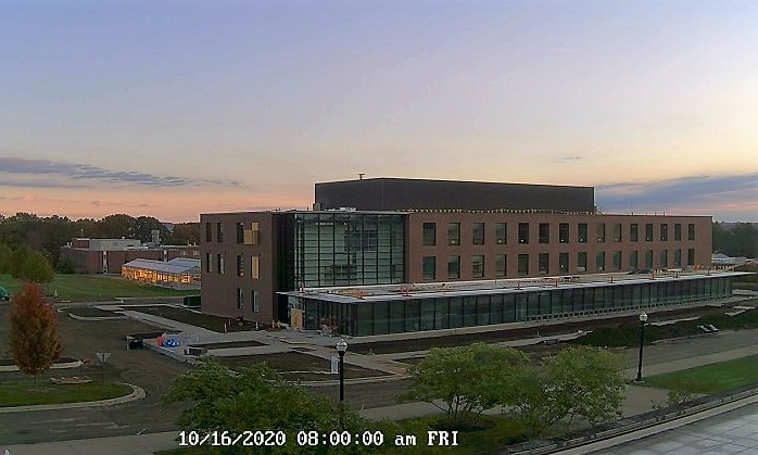 Science Building on October 16, 2020