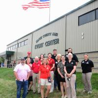 Entomology Dept Chair Jamie Strange and other CFAES Leaders Attend the Wayne County Fair