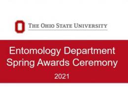 Entomology Department Spring 2021 Awards
