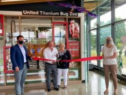 Michael & Stephanie Reardon officially opening the UTBZ!